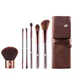 BARE FACED BEAUTY 6 Piece Vegan Brush Set - ELEGÁNS ECSETKÉSZLET ECSETTARTÓVAL