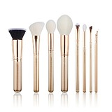 JESSUP 8 pcs Brush Set Golden/Rose Gold T415 - FÉLPROFI SMINKECSET KÉSZLET
