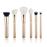 JESSUP 6 pcs Brush Set Golden/Rose Gold T418 - FÉLPROFI SMINKECSET KÉSZLET
