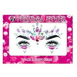 W7 COSMETICS Festival Fever Face & Body Gems Raving Riches Jewels - ÖNTAPADÓS ÉKSZERKŐ ARCRA TESTRE