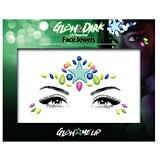PaintGlow Glow In The Dark Face Jewel Style 1